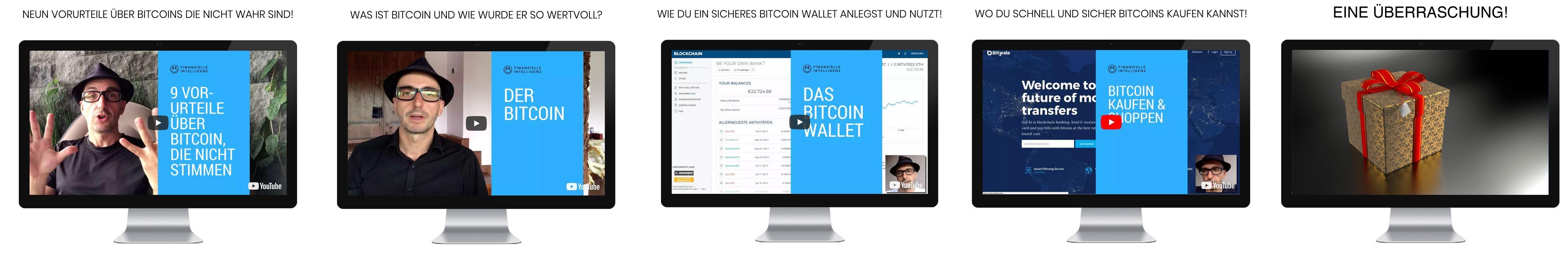 Kostenloser Videokurs zu Bitcoin